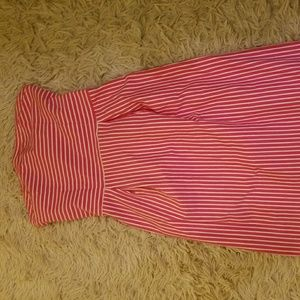 OLD NAVY pink tube top dress